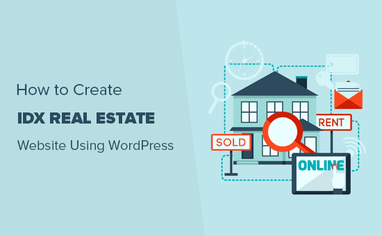 How to create IDX real estate website using WordPress