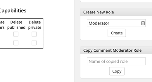 Adding a custom user role in WordPress