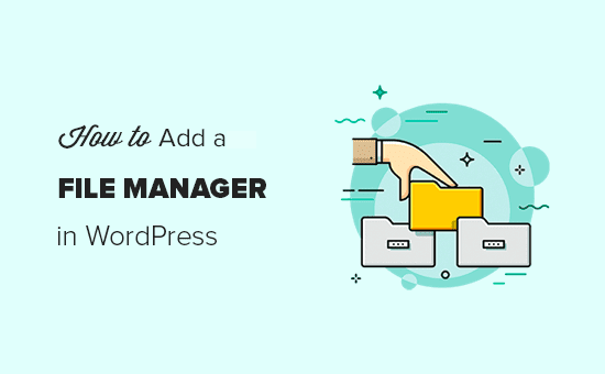 Adding an FTP like file manager in WordPress