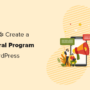 How to Create a Referral Program in WordPress